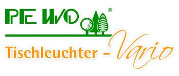 Tischleuchter Vario-Logo